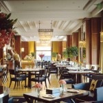 The Gresham Kavehaz restaurant at the Four Seasons Hotel in Budapest