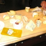The cheese cart with some 20 selections