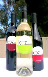 img 08842 190x300 Three different grape varietals of KOZ Wine