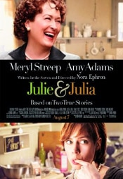 movieposter Julia Child brings inspiration to a young woman through her cooking in the film Julie & Julia