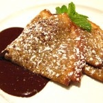 Chocolate crêpes