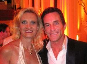 sophiegayotjeffprobst 300x219 Jeff Probst, best reality host Emmy winner, with Sophie Gayot