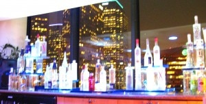 vodkabarwestinbonaventurelosangeles 300x152 The vodka bar next to the restaurant
