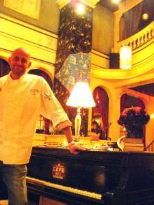 Chef Alex Reznik from Ivan Kane's Café Wa s in Hollywood