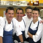 The chef team at Bouchon