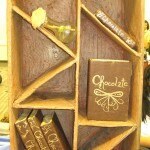 Chocolate bookcase contest entry