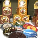 The Chocolate Traveler tins
