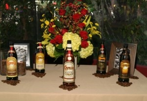 five different flavors of kahlua liqueur were incorporated into the dishes served at the dinner 300x206 Hazelnut, French Vanilla, Coffee Cream, Especial and Mocha  KAHLÚA liqueur flavors