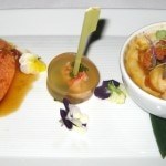 Chef Jereme Leung's duo of Maine lobster, Oriental style