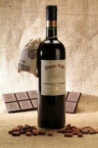 Pair the chocolate from Republica del Cacao with Pinot