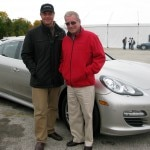 alain with hurley haywwod 150x150 Porsche Panamera