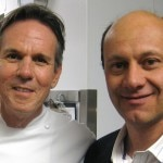 Chef Thomas Keller with Alain Gayot