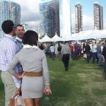 foodies and oenophiles at the grand tasting event 150x150 Sippin by the Dock of the Bay