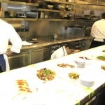 The kitchen of Bouchon Beverly Hills