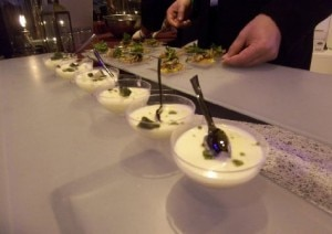 Mojito Panna Cotta by Chef Rocia Varela