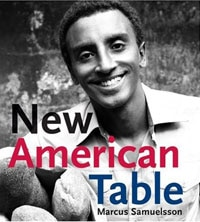 New American Table cookbook by chef Marcus Samuelsson