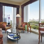 A guest suite at the Trump International Hotel & Tower New York