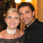 French actor Gilles Marini with Sophie Gayot