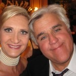 Jay Leno with Sophie Gayot