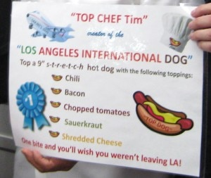 The LAX International Dog description