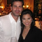 Victoria Recano, co-anchor of the 6pm and 10pm KTLA News, with husband Thomas Burwell