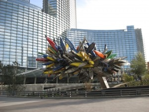 Big Edge sculpture by Nancy Rubins