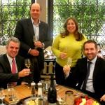 Olivier Krug, Alain Gayot, Tara Weingarten-Newsweek and Rémi Fritsch-Fontanges