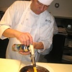 Chef Keizo Ishiba at work