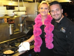 "Chef Fabio Viviani, ""Top Chef Season 5 Fan Favorite,"" with Sophie Gayot"