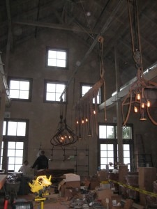 farmsteadchandeliers 225x300 Chandeliers constructed from old farm equipment