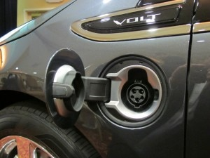 Chevrolet Volt electrical plug-in