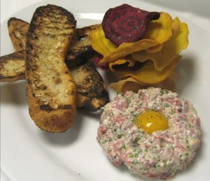 Steak tartare is one of many new offerings on the revamped menu at Bin 36.