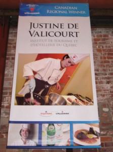 Justine de Valicourt, Canada, Institut de Tourisme et d'Hôtellerie du Québec