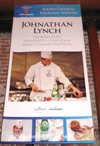6 jonathan 207x300 Johnathan Lynch, South Central Region, Nicholls State University   Chef John Folse Culinary Institute