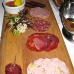 Home-made charcuterie, from the bar menu