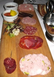 charcuterie 209x300 Home made charcuterie, from the bar menu