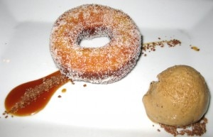 donuts 300x193 Citrus vanilla sugar doughnut with coffee ice cream