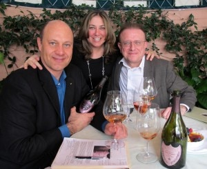 Alain Gayot with Tara Weingarten-Newsweek and Richard Goeffroy