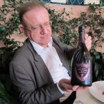 Richard Goeffroy with the 1990 Oenotheque