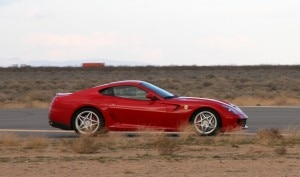 Hitting the speed barrier in a Ferrari 599 GTB