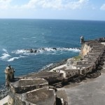 A view from an old fort in San Juan