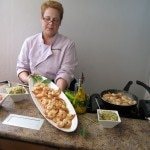 Chef Giovanna Huyke of the TV cooking show, Cocina con Giovanna