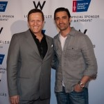 "ACS CEO David F. Veneziano and Gilles Marini of ""Sex and the City"""