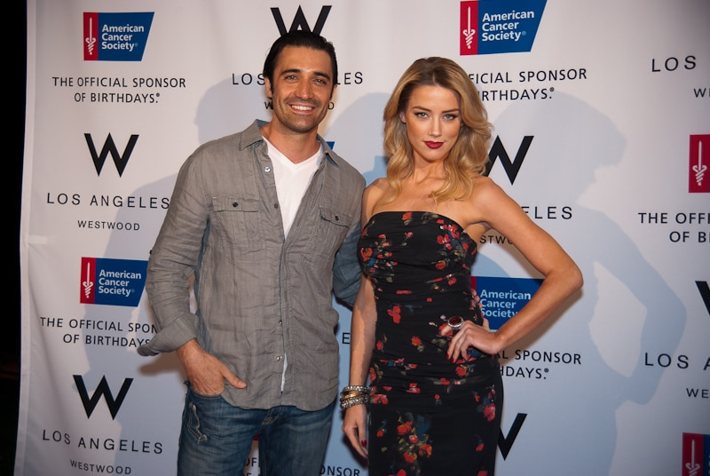 "Gilles Marini of ""Sex and the City"" and Amber Heard of ""The Rum Diary"""