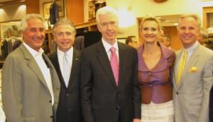 James Hausberg (Board Member Concern), Frank Mottek, Governor Gray Davis; Sophie Gayot