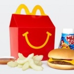 Even without french fries, the current Cheeseburger Happy Meal doesn't meet the new health standard
