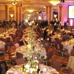 The grand ballroom at The Beverly Wilshire