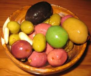 Olives to start