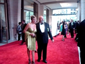 Restaurant impresario Pat Kuleto arrives on the red carpet