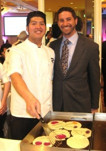 Rivera chef de cuisine Kevin Luzande & general manager Matthew Washton